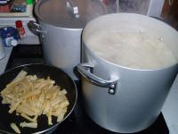 鯛豚骨スープ