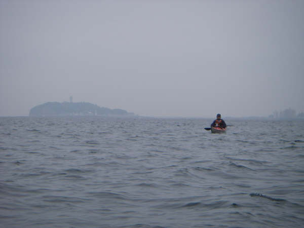 江ノ島を後に