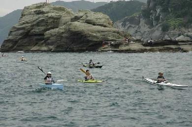途中の釣り人