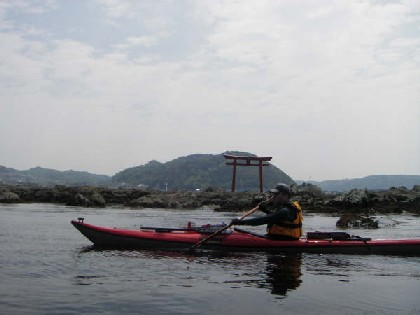 名島の鳥居
