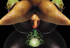野菜でエロアート