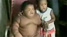 生後11ヶ月で体重28kg