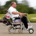 車椅子の強盗