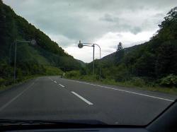 浮島峠を越えて滝上へ