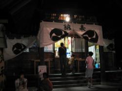 神居神社例大祭の宵宮
