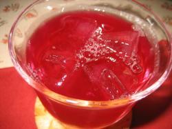 きれいな赤 紫蘇飲料300円