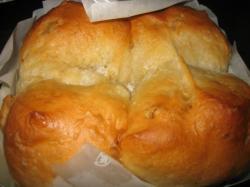 くるみの紙焼きパン