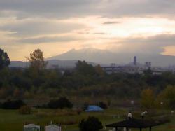 10月9日朝の大雪山