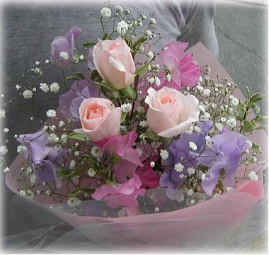 おばあちゃまからの花束