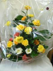 由美ちゃんへのお花