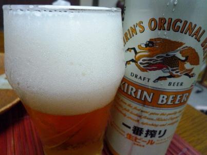 080906 本日ビール