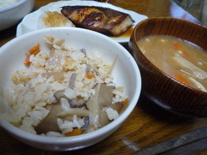 080908 ご飯とお味噌汁