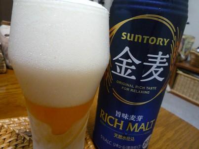 080918 本日ビール