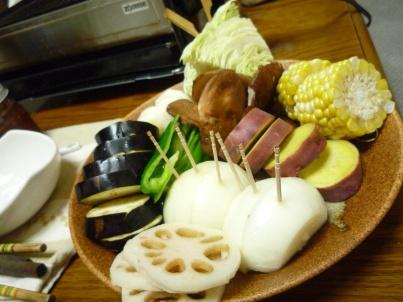 080922 焼肉野菜