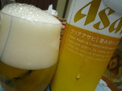 081004 本日ビール