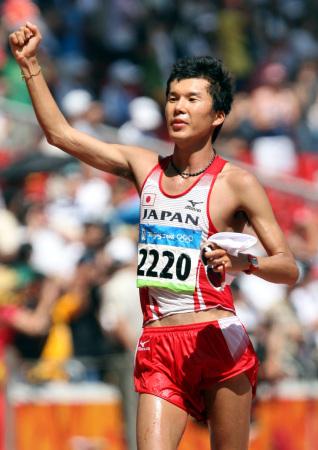 北京オリンピック 競歩 山崎