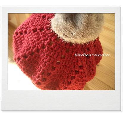 赤いベレー帽