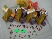 B'day ケーキ