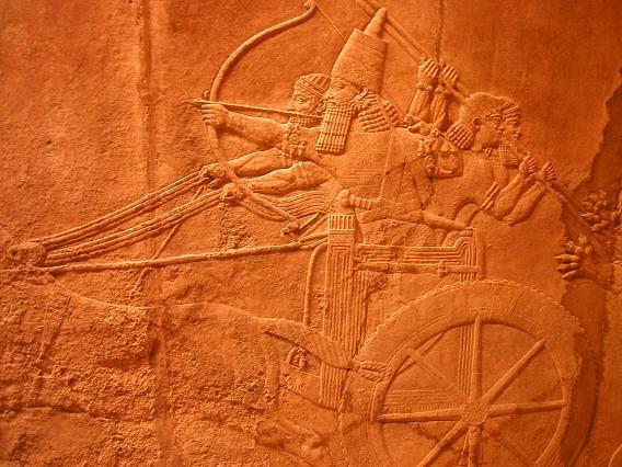 メソポタミアの壁画(一部)