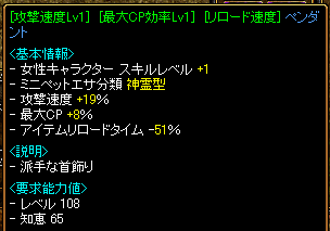 速度ペンダント(200万)