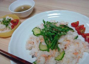 鮭寿司ごはん
