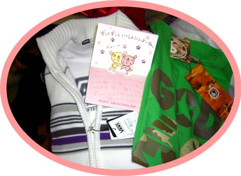 プレゼント&カード
