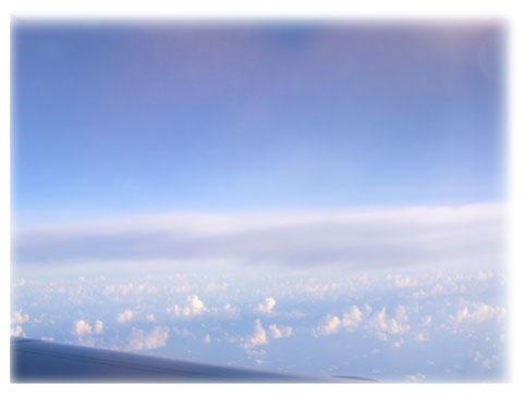 飛行機から見た空Ⅰ