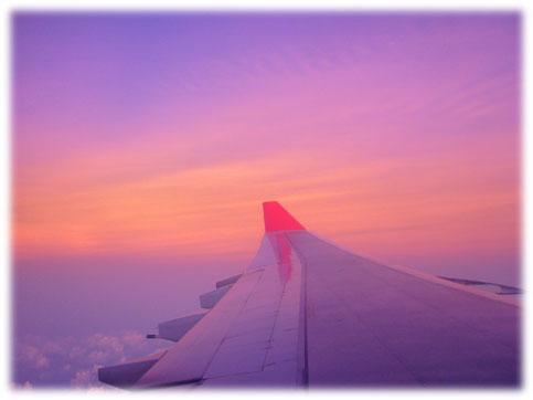 飛行機から見た空Ⅱ