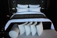 2つ目のホテルのベッド