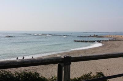 鎌倉の海~♪