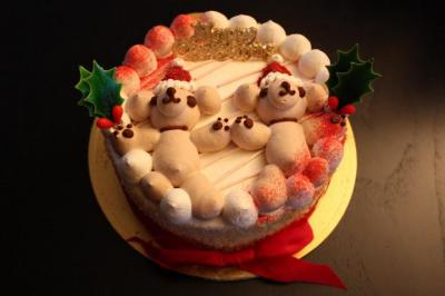ワンコケーキ♪