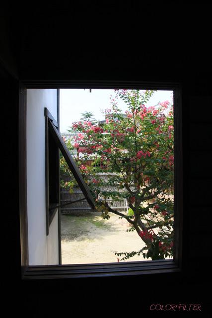 菊屋家住宅まどからの景色