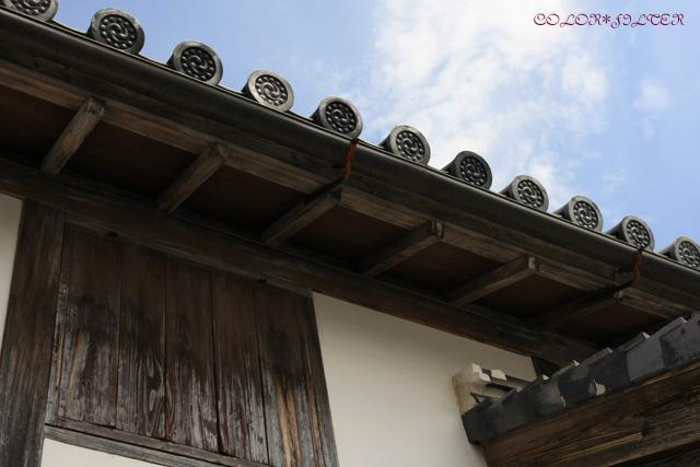 菊屋家住宅屋根