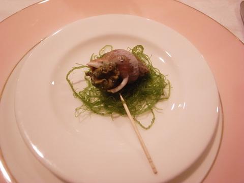 北島亭 つぶ貝
