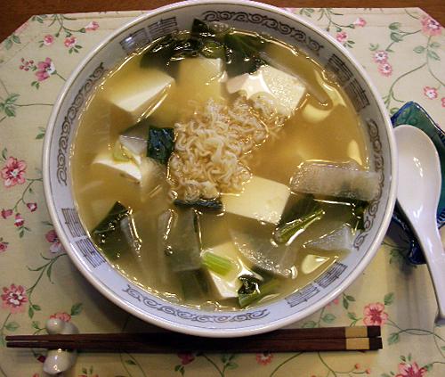どんぶり豆腐