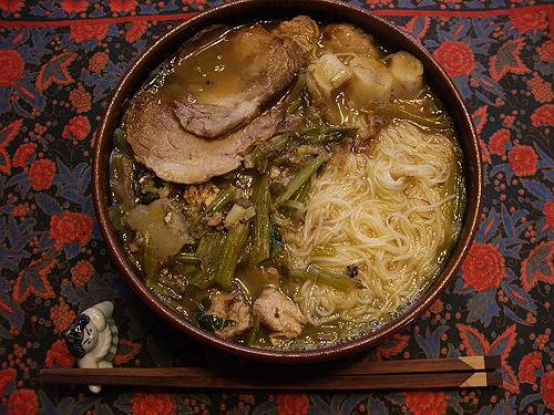 チャーシュー素麺