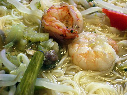 スープ&麺