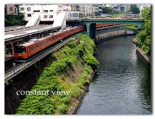 河のある景色