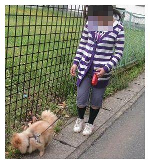 姪とお散歩