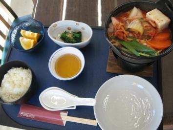 0124 キムチ鍋定食