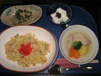 0131 炒めご飯ランチ
