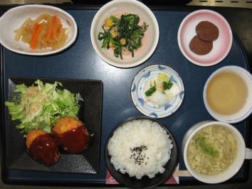 0204 おからコロッケ定食