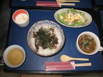 0224 中落ちカルビ丼定食