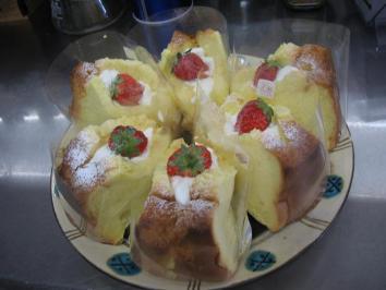 0328 ペパーミントさんの苺のシフォンケーキ