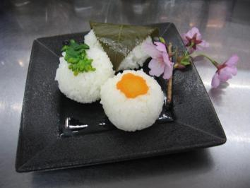 0401 手毬寿司3種