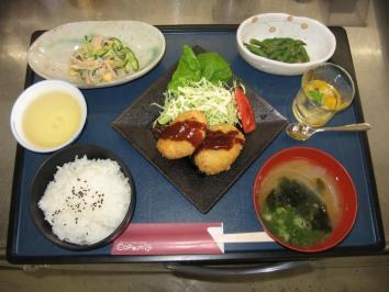 0614 コロッケ定食
