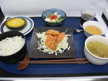 0704 鮭マヨのランチ