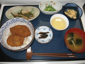 0711 ソースカツ丼