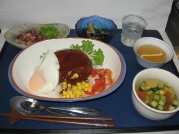 0802 ロコモコ丼ランチ