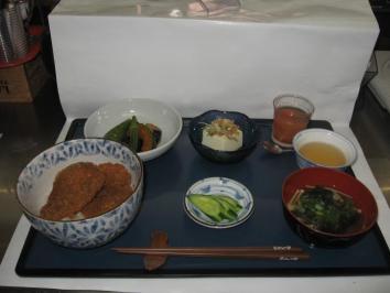 0805 ソースカツ丼ランチ